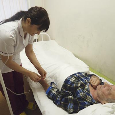 Уход за лежачими больными пожилого возраста в спб